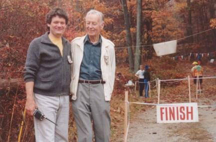 Bjorn and CC at Clear lake