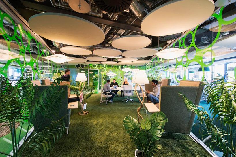 Google's Tel Aviv creative office space