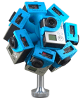 spherical GoPro camera
