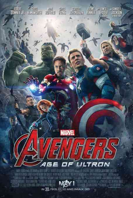 MIDNIGHT MOVIE #3! Avengers: Age of Ultron! THURS 30 April
