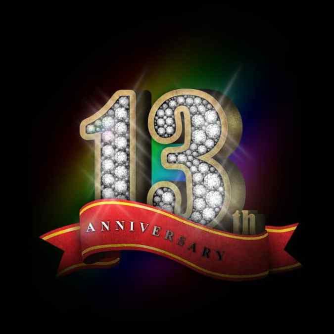 13th ANNIVERSARY SALE! 11-19 June