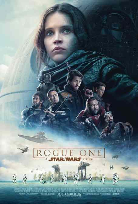Midnight Movie! Star Wars Rogue One! THURS 15 Dec @ 11.30P AMC NewPark