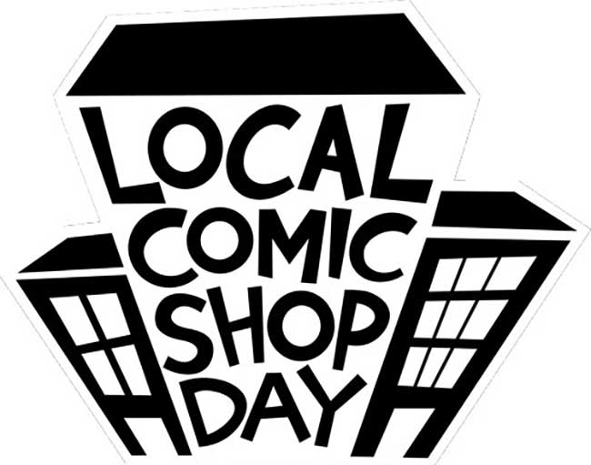 Local Comic Shop (and Justice League) Day! 18 November