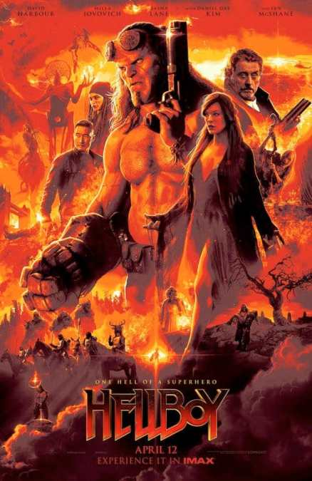 Midnight Movie! Hellboy! Thursday 11th April @ 9.55P