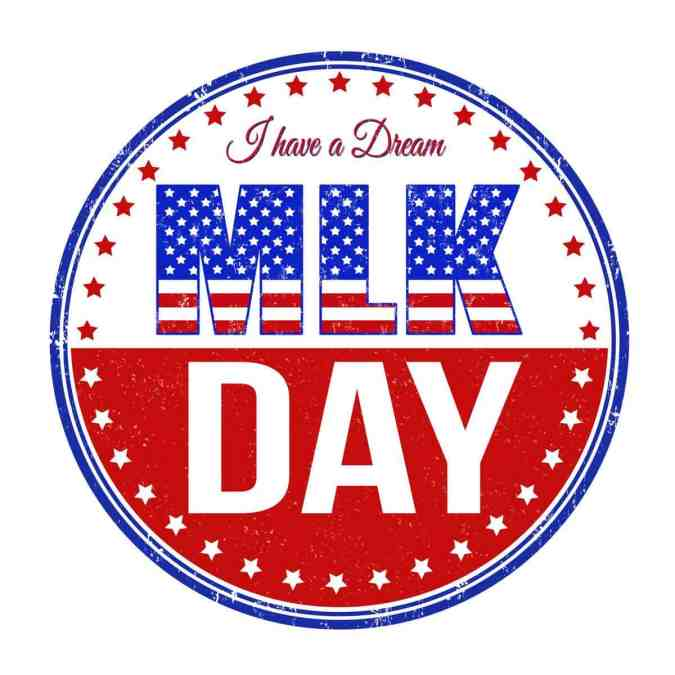 CLOSED 20 January in observance of MLK Day