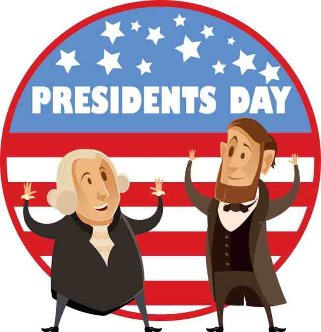 CLOSED 17 February for Presidents Day