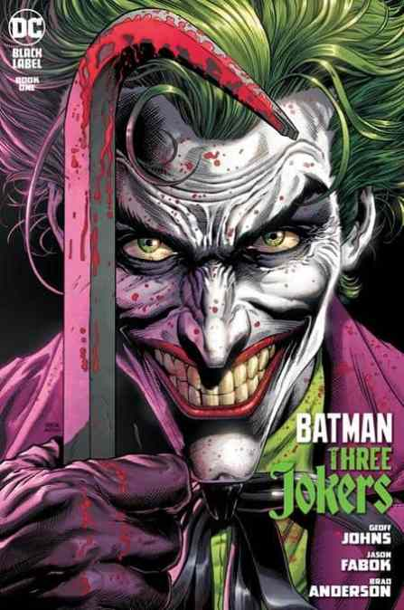 DC books are LATE this week! BATMAN THREE JOKERS and more…!