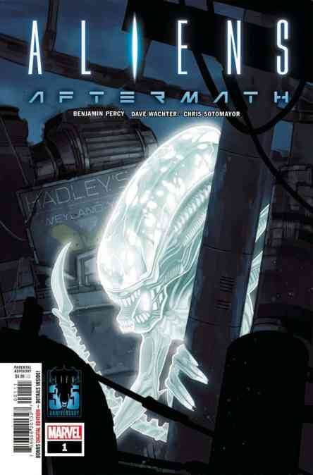New This Week: ALIENS AFTERMATH #1, HAHA #6, BEYOND THE BREACH #1, NEVER NEVER #1, SPARE PARTS & THE LOT #1!