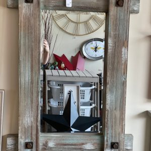 Barnboard mirror