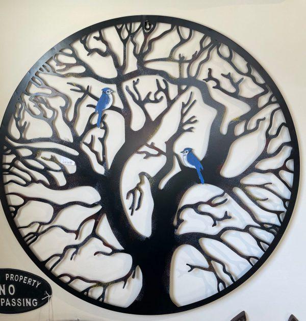 Bluebird Metal art