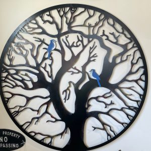 Bluebird Metal art