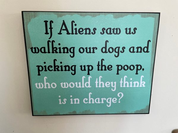 If Alien's Saw Us Sign