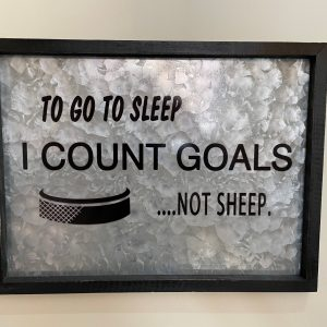 Count Goals not sheep sign