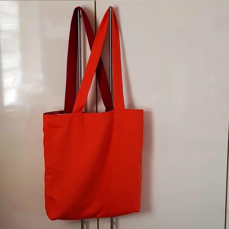 Stofftasche zum Wenden