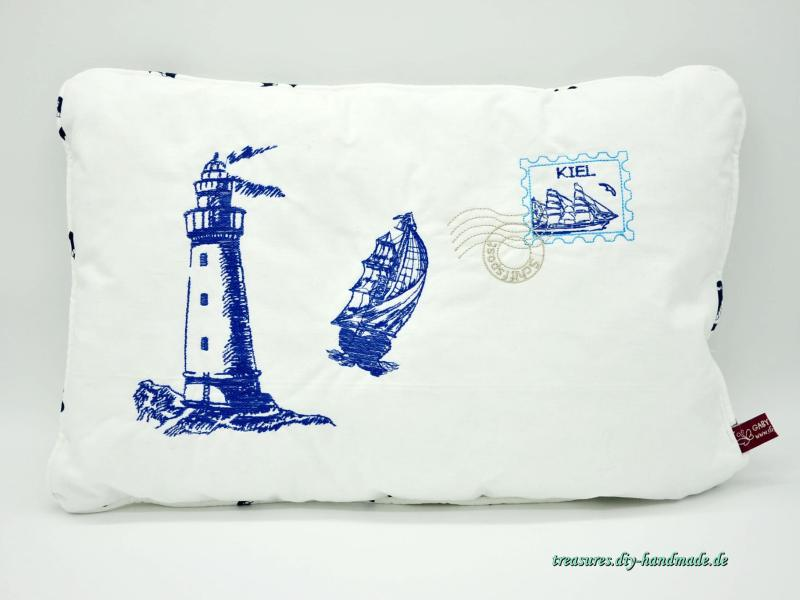 maritimes Kuschelkissen
