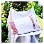 patchwork vintage Kissenbezug