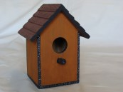 Artistic Decorative Bird House Rustic Look Price: $15.00