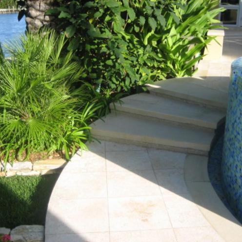 Pool Stairway