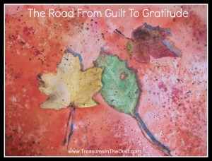 The Road From Guilt To Gratitude