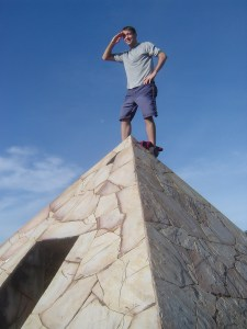 A beautifully designed and built pyramid located in Mariscal Lopez, near Piribebuy, Paraguay.