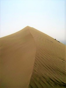 The sand dunes of Huacachina!