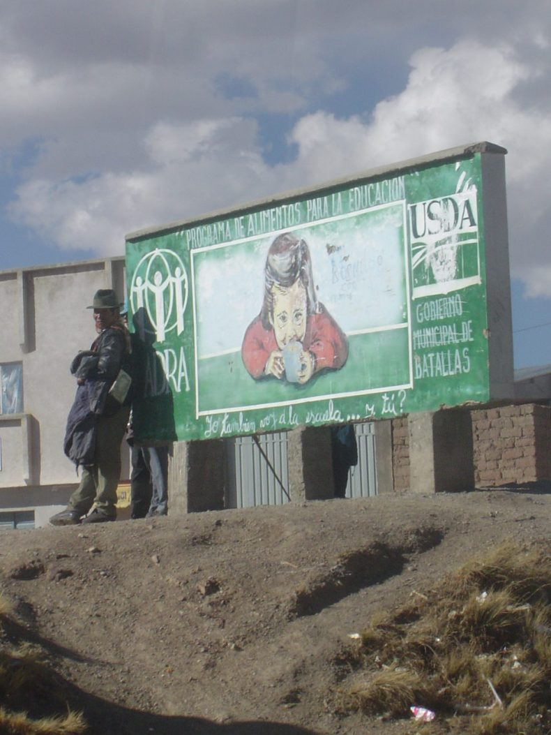 What's the USDA doing in Bolivia?