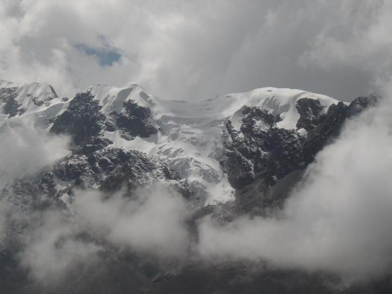 One of the beautiful views of snow capped mountains along the bus ride from Ayacucho to Huancayo!