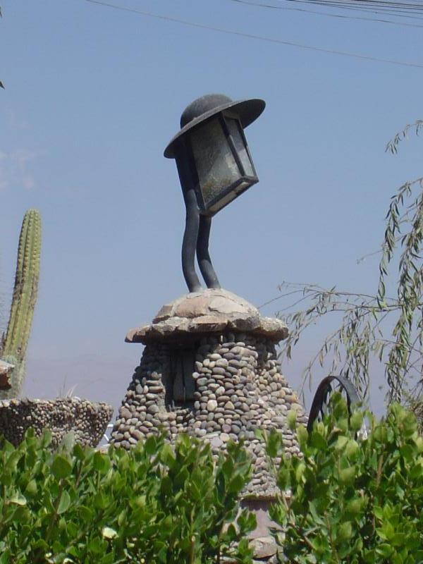 "The very modern looking and beautiful ""Parque de la Identidad"" in Huancayo!"