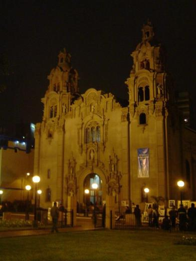 One of the many cathedrals in Lima Peru.