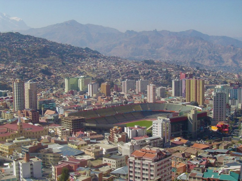 Estadio Hernando Siles is a sports stadium in La Paz, Bolivia. It is the country's largest sports complex with a capacity of 41,143 seats.