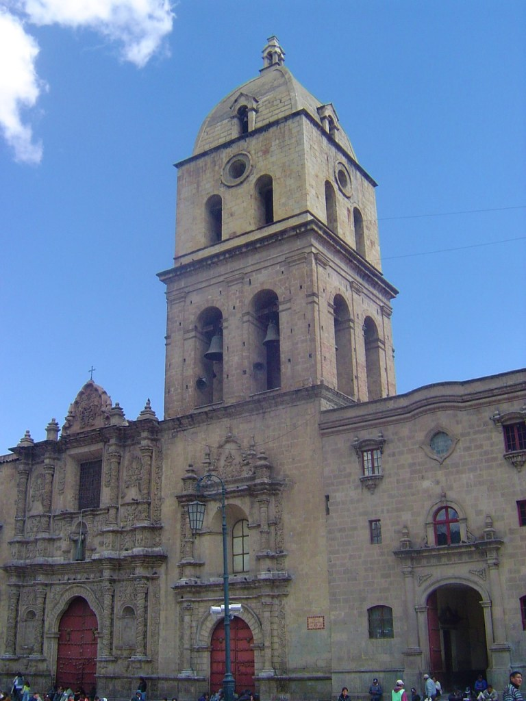 The Basilica de San Francisco in Plaza San Francisco.
