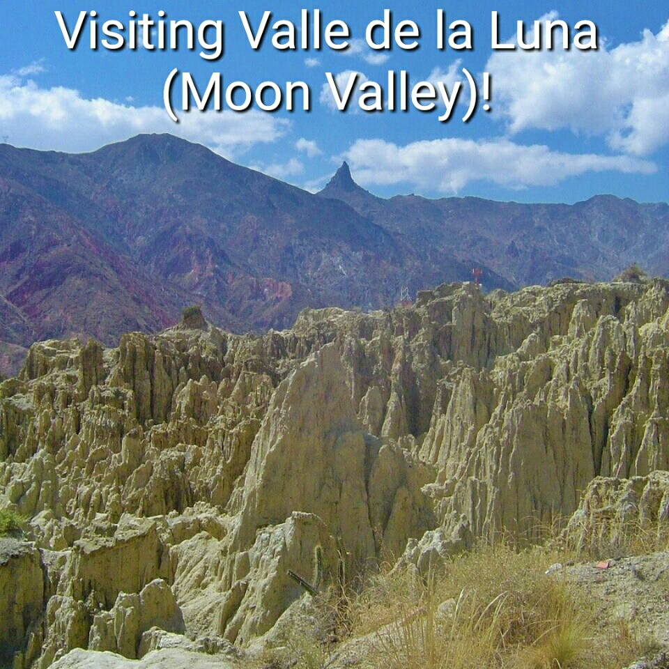 Visiting Valle de la Luna (Moon Valley)!
