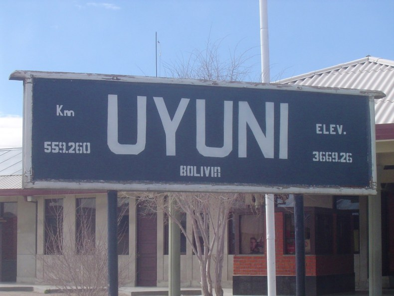 Uyuni is located at 3,669 meters above sea level!