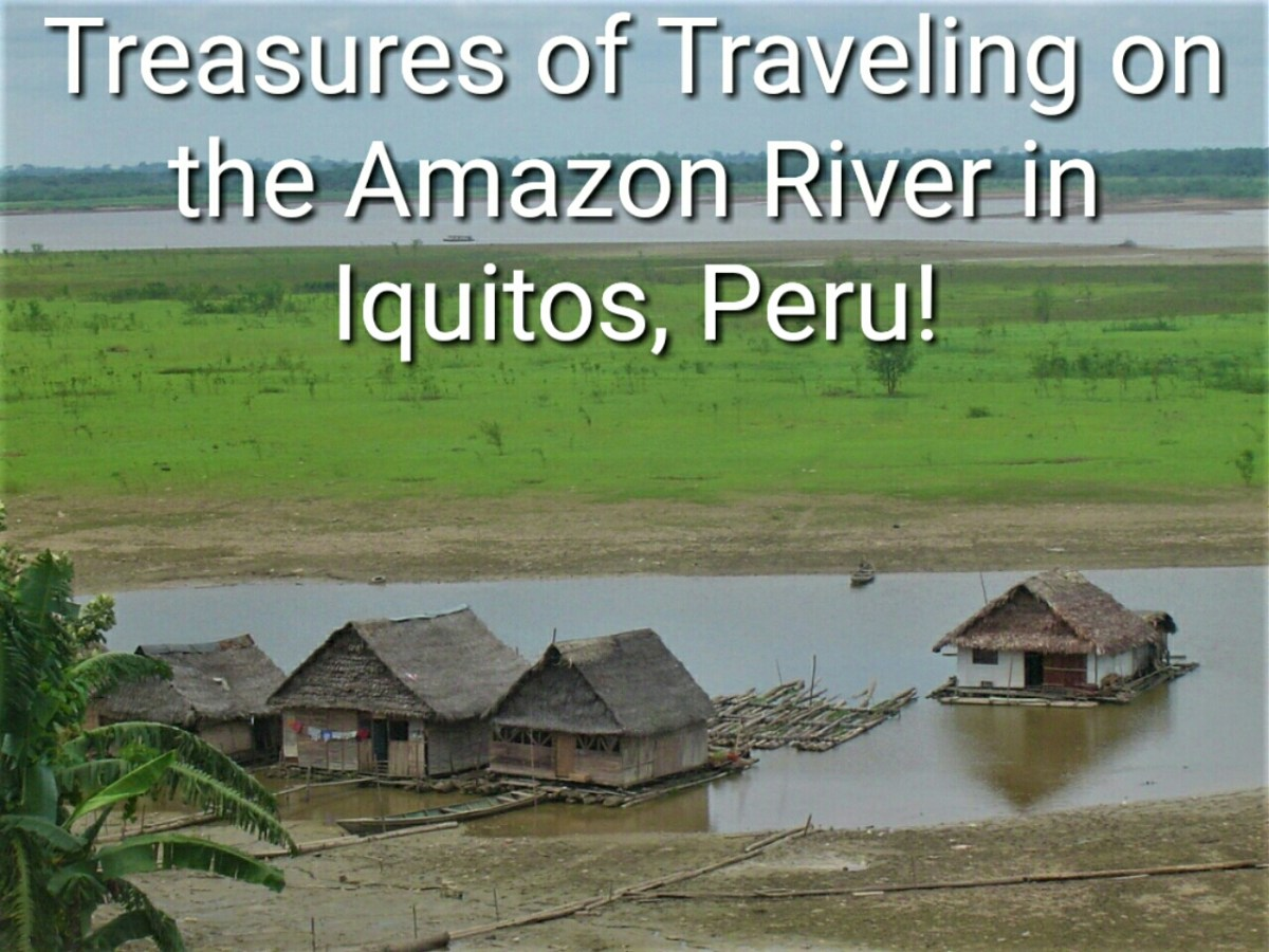 Treasures of Traveling on the Amazon River in Iquitos, Peru!
