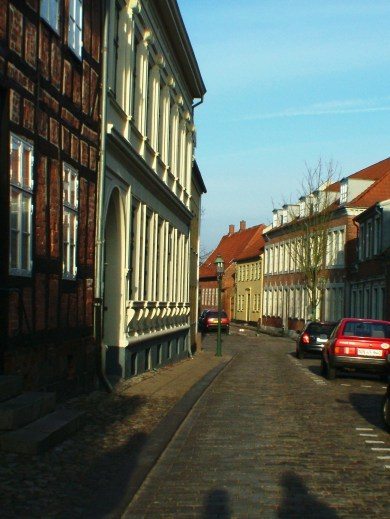The beautiful streets of Viborg!