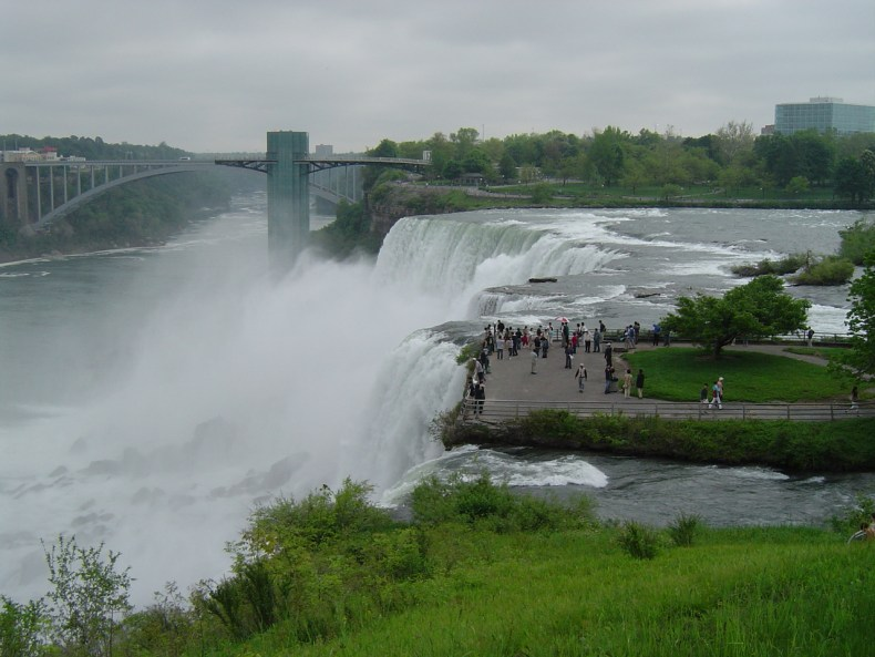 Battle Of Niagara Falls The American Side Vs The Canadian