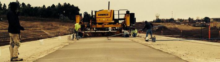 Concrete Construction | Highway Work | Treasure State, Inc. | Belgrade, MT