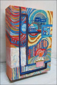 Cupcake Series 9, 5 x 7, acrylic on canvas
