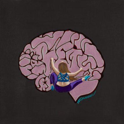 Climbing on the Brain