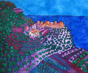 Italy Oil:Canvas 36x30
