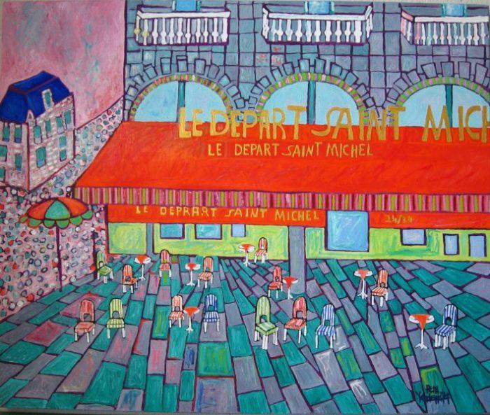 Paris Oil:Canvas 30x36