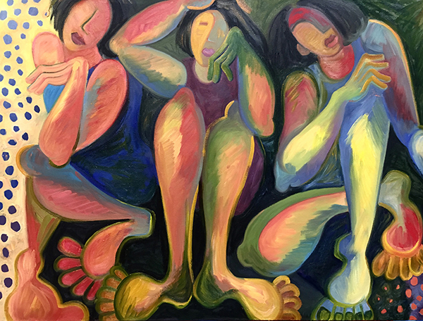 Ennui, Oil painting, 24X36