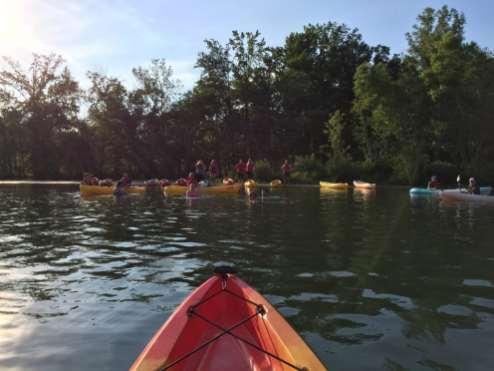 CaroMont Cancer Staff-rafting-trip