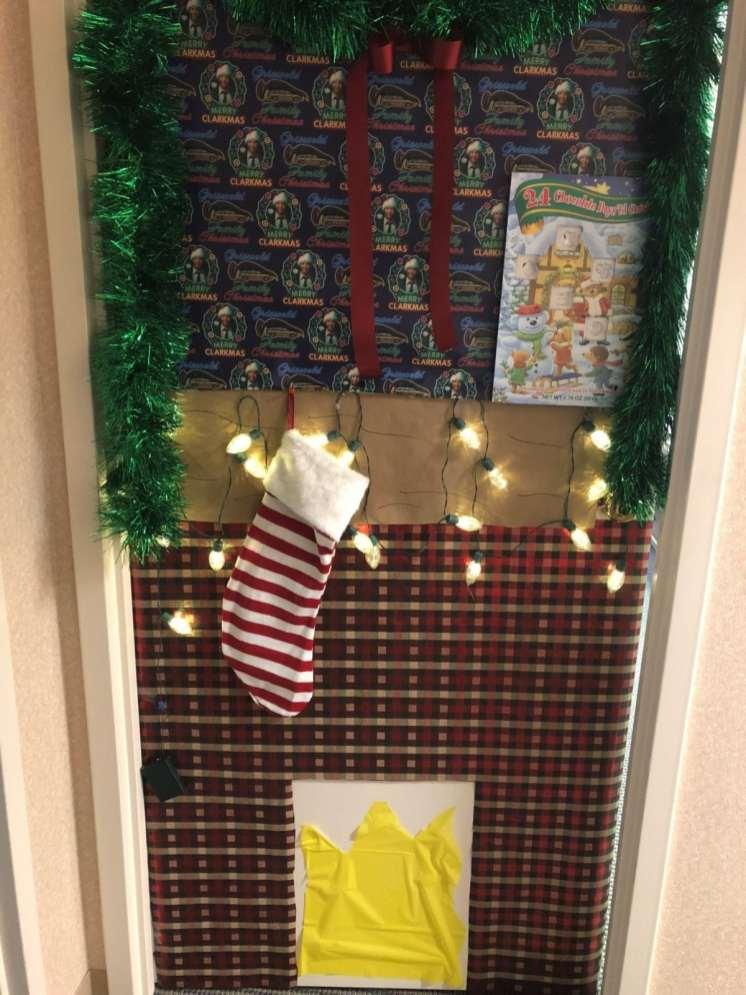 Christmas Door 12