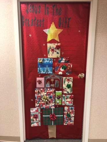 Christmas Door 7