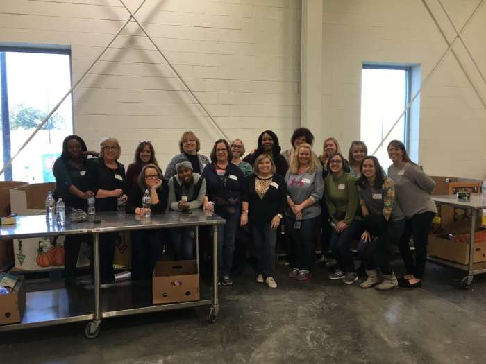 The SERO Business Office Staff at Second Harvest Food Bank of Metrolina