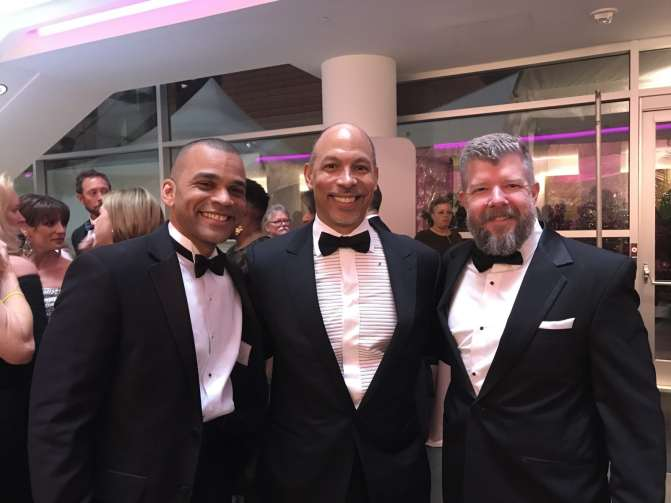 2018 Dancing with the Stars of Charlotte - Drs. Butler and Moeller with Gene Woods