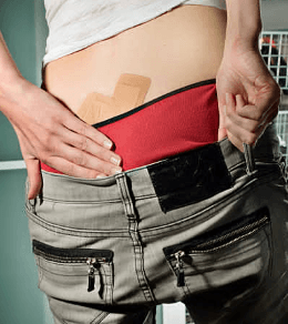 how to get rid of blisters on buttocks