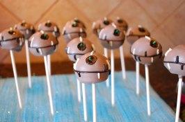 Deathstar cakepops