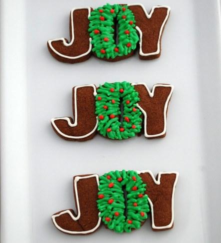 JOY wreaths
